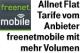 freenetmobile Allnet Flat Tarife im D-Netz mit mehr Datenvolumen