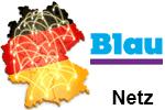 Blau Netzabdeckung - Mobilfunk