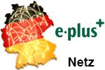 E-Plus Netz - Netzabdeckung - Mobilfunk