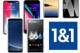 Smartphones / Handys günstig mit 1&1 Handyvertrag (z.B. Allnet Flat)