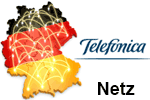 Telefonica Netzabdeckung - Mobilfunk