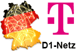 Vodafone D1-Netz (Netzabdeckung)