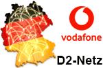 Vodafone D2-Netz (Netzabdeckung)