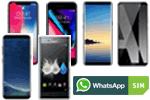Smartphones / Handys bei WhatsApp SIM