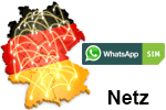 WhatsApp SIM Netzabdeckung - Mobilfunk